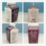 500ml Cream Gable Top Carton
