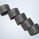 ステンレス鋼オイルの水によって圧縮される編まれた金網フィルターマフラー