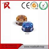 Indicatore luminoso solare di Roadsafe LED con la vite prigioniera della strada dell'indicatore della pavimentazione di strada dei branelli di vetro del LED