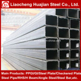 50mmx30mm schwarzes rechteckiges Stahlrohr mit angemessenem Preis