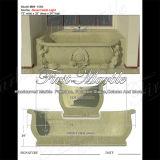 Vasca da bagno dell'oro del deserto per la decorazione domestica Mbm-1084