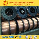 collegare di saldatura di MIG del filo di acciaio della bobina 15kg/D270 di 1.2mm Er70s-6 per l'OEM
