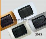 Soquete padrão americano do telefone de Champagne Ámérica do Sul o Chile do ABS NF3-16