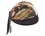Продукция OEM подгоняла Bandana напечатанный логосом хлопка черепа велосипедиста крышки Headwrap