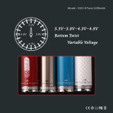 Nouvel EGO II 2200mAh Variable Voltage Battery Electronic Cigarette (EGOII Twist)