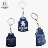 도매 선전용 선물 청사진 에폭시 주문 피복 Keychain
