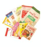 Загерметизированный вакуумом мешок хранения риса сыра мяса замороженных продуктов упаковывая