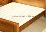 Camas matrimoniales modernas de la base de madera sólida (M-X2267)