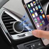 De universele Magnetische Auto zet voor Smartphone met het Stuk van het Ijzer op