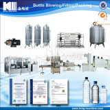 Terminar el agua mineral/potable en botella que hace la máquina