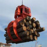 ディーゼル機関のログの油圧木製のグラブ