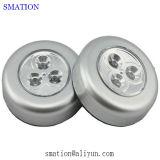 Inalámbrico PIR LED Armario iluminación sobre la meseta del gabinete de cocina de luz