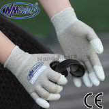 Nmsafety Anti Static PU Top Fit Revêtu ESD Glove