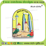 Modèle promotionnel de dessin animé d'aimants de réfrigérateur de PVC de cadeaux de mode de la Malaisie (RC-MA)