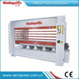 Machine chaude hydraulique de presse de certification de la CE