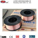 De la fábrica Er70s-6 alambre de soldadura sólido directo