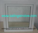Guichet en aluminium - le tissu pour rideaux balancent à l'extérieur le guichet