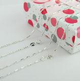 Joyas de plata Neckalce, 925 cadena de plata, joyería de moda (GT165)