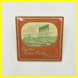 Pin del risvolto placcato oro con Taj Mahal India