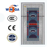 Porte en acier en métal de garantie inoxidable matérielle argentée de la couleur 304 (W-GH-08)