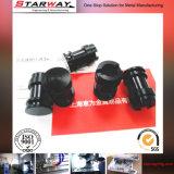 黒いプラスチック部品(SW-PL03)を機械で造る製造の精密CNC
