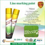 Linha pintura da marcação da pintura/estrada da marcação