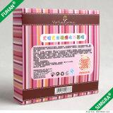 Подгонянная косметическая лицевая коробка упаковки бумаги маски