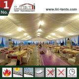 25X50mの贅沢な党のためのロマンチックな玄関ひさし1000年の容量党テント