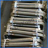 Vendedor dourado GB do encaixe de gás mangueira do metal de 1 polegada