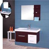 Vanité fixée au mur de salle de bains de chêne de qualité