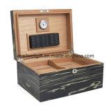高品質の木製の100シガーの保湿箱
