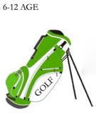 Sacchetto di golf superiore dei bambini sacchetto di golf del capretto del poliestere da 6 pollici/sacchetto di golf operato