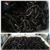 黒は合金鋼鉄溶接されたリンクG80鎖に油をさした