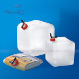 PE Portable Foldable Water Storage Container di 8L Eco-Friendly