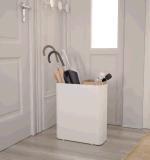 Uispair 100%のオフィスのホームホテルの装飾のための鋼鉄現代玄関の家具の傘立て