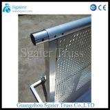 Barricade van de Barrière van de Controle van de Menigte van het aluminium Vouwbare