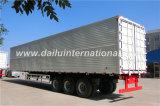Сплав Крыло Отверстие Van Semi Трейлер 3 Axles алюминиевый на промотировании