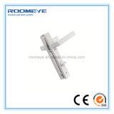 Roomeye a personnalisé la porte à extrémité élevé de tissu pour rideaux de modèle/aluminium d'oscillation