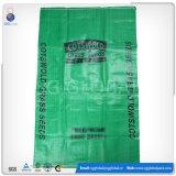 Мешок зерна пластмассы 25kg 50kg сплетенный полипропиленом