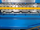 Полное Auto Trapezoidal Profile и Corrugated Tile Roofing Sheet Roll Forming Machine