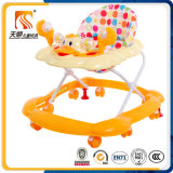 Kind-Spielzeug-Auto-Fabrik-Großverkauf-Aktivitäts-Baby-Plastikwanderer mit Musik