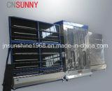 Baixa-e máquina de lavar de vidro vertical/máquina de vidro da arruela e do secador