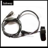 紫外線5r Kenwoodの携帯無線電話のための軽量の喉Mic