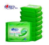 Matériau d'emballage en plastique de tissu de roulis