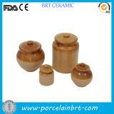 古典的な別の形の陶磁器のピクルスの瓶