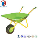 아기 외바퀴 손수레 녹색 Coulour Wb0102