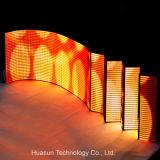 Afficheur LED pliable ultra mince de petite taille de Rubik P6
