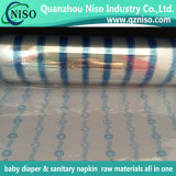 Nastro frontale adulto delle materie prime del pannolino di prezzi di fabbrica di certificazione dello SGS con i materiali dei pp