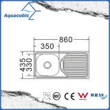 Über GegenEdelstahl Moduled Küche-Wanne (ACS-86435)