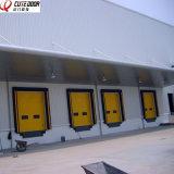 Раздвижные двери полного подъема панели зрения промышленного надземного секционные
